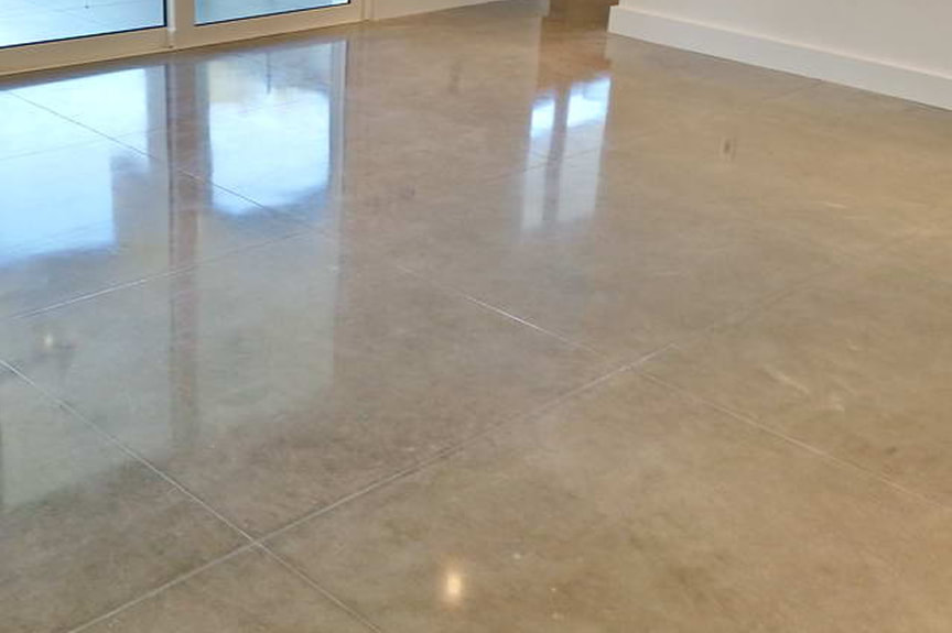 Polished Concrete Floors In Denton Texas